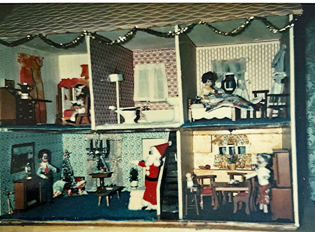 Sensational Early Houses Nanas Dollhouses And Miniatures Home Interior And Landscaping Pimpapssignezvosmurscom