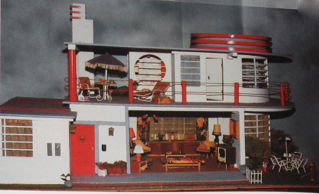 Art deco dolls house plans - House interior